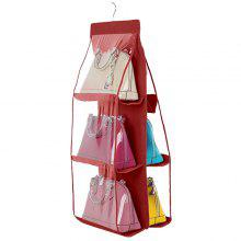 50 Off Six Layer Bag Organizer Hanging Storage Bags