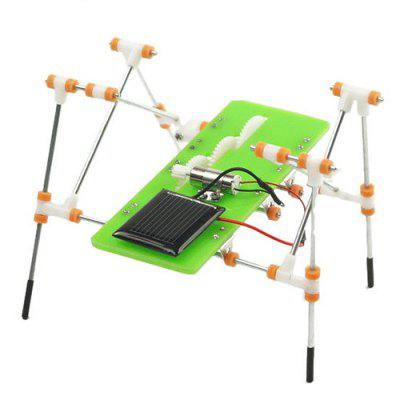 DIY Puzzel Solar Quadruped Robot Educatief speelgoed