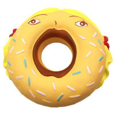 PU Slow Rebound Girl Donut Squishy Toy