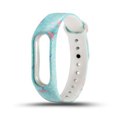 Printed Pattern TPU Strap for Xiaomi Mi Band 2