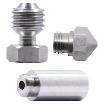 MK10 All Metal Hotend 3D Printer Throat Nozzle Conversion Kit