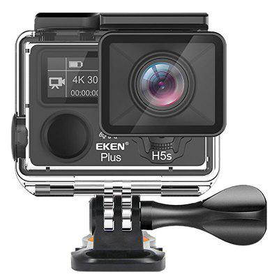 Original EKEN H5s Plus 4K Ultra HD Ultrathin TP ( Touch ) Screen WiFi + 2.4G Sports Camera