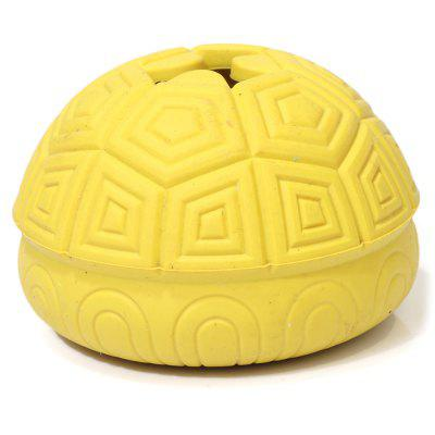 Turtle Shell Design Food Leaking Ball Dog Toy
