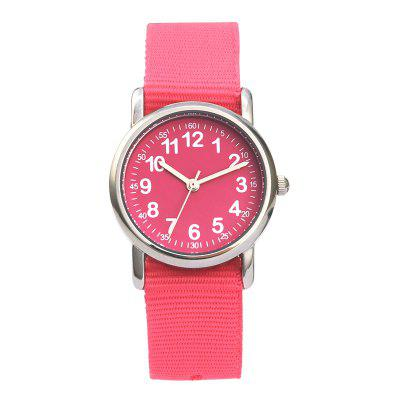 Fashion Woven Cute Children Waterproof Quartz Watch