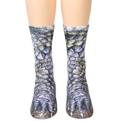 3D Printing Animal Unisex Adult Socks