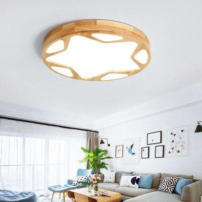 Simple Star-pattern Style LED Ceiling Light for Bedroom Decoration