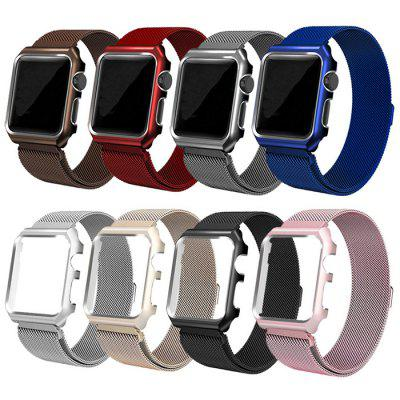 Applicable To Watch Strap Milanese Border With A Band for Apple Watch Metal Watch