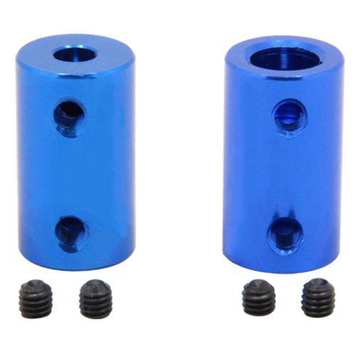 Aluminum Alloy Coupling Bore 5mm 8mm 3D Printers Blue Flexible Shaft Coupler Screw Part for Stepper Motor Accessories