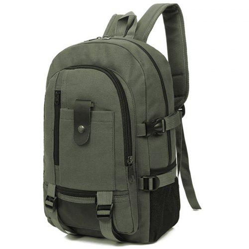 Men Trendy Outdoor Large Capacity Canvas Backpack -  12.99 Free ... b217b75687c25