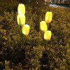 Tulip Flower Glowing Solar Power Light for Lawn - MULTI