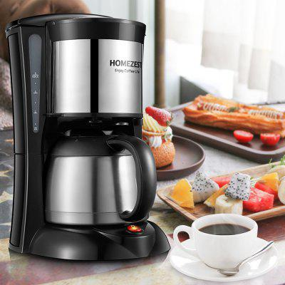 HOMEZEST CM - 823w 1L Large Capacity Stainless Steel Household Drip Coffee Machine