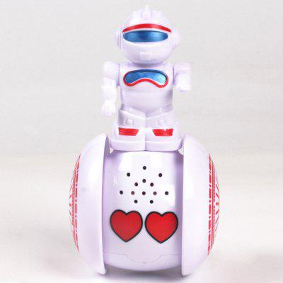 Early Education Intelligent Tumbler Induction Robot Music Lighting Baby Puzzle Appease Sliding Toy