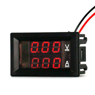 DC Dual Digital Voltmeter Display Meter