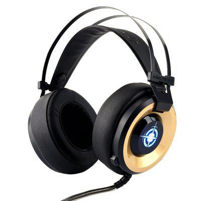 Refletora Mágica MV1 Gaming Headset E-sports Headphone para Computador
