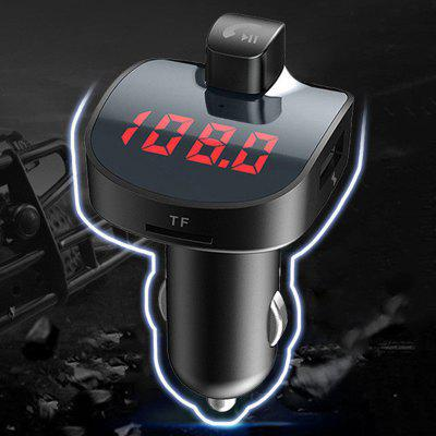 Car Bluetooth Handsfree MP3 Player Dual USB FM Transmitter