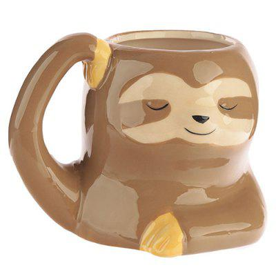 Creative Painted Ceramic 3D Animal Water Cup
