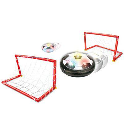 LED Air Power Training Ball Soccer Football Goal Toy Set