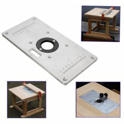 Aluminum Wood Router Insert Plate