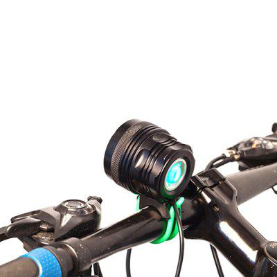 Portable 3500lm LED Headlight with Battery for Bicycle