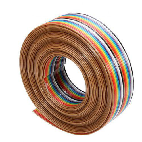 20 Pin DuPont Cable Rainbow Flat Line