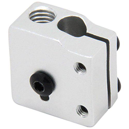 Volcano Eruption Heat Block Hot End for 1.75 / 3mm Filament V5 V6 Extruder J-head 3D Printers Aluminium Heating Parts