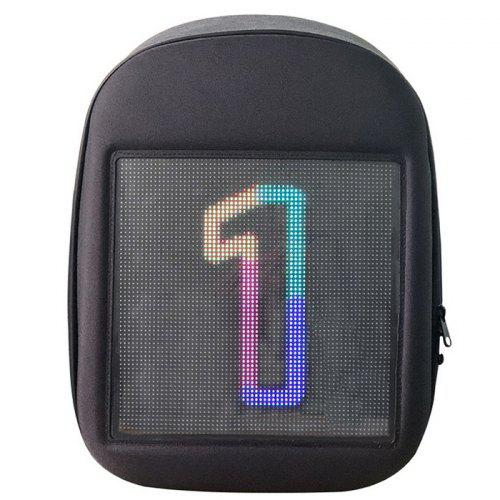 Creative Design LED Display Screen Backpack APP Control Pattern Free to Change