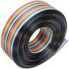 20 Pin DuPont Cable Rainbow Flat Line - MULTI-A