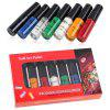 Glue Painted Oil Printing Special Nail Polish Round Bottle 7pcs - MULTI-A