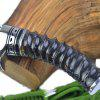 Outdoor Straight Fixed Blade Knife for Collection - DARK SLATE BLUE