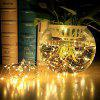 10m 100-LED String Light for Decoration with Remote Control - WHITE