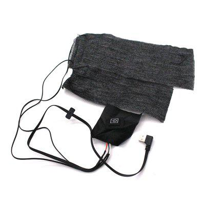 One Drag Two Carbon Fiber USB Electric Heating Pad Clothes Thermal Sheet