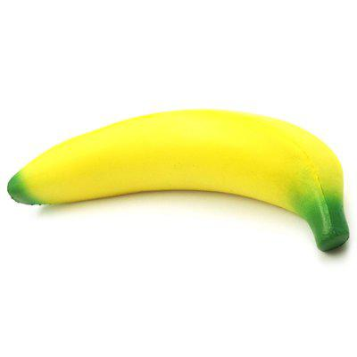 PU Slow Rebound Simulation Banana Squishy Toy
