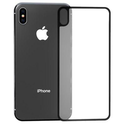 ZK Black Different Versione 3D Soft Side Glass temperato per iPhone XS Max