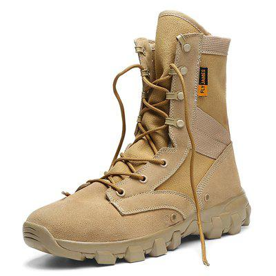 Men Comfortable High-top Outdoor Hiking Boots
