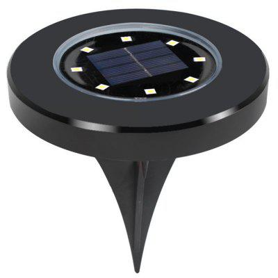 Solar 8LED Waterproof Underground Light 2pcs