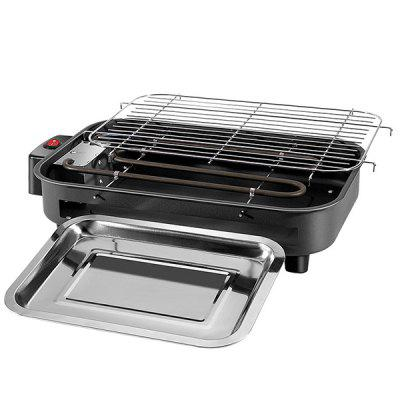 Multi-function Electric Grill Home Baking Pan Smokeless Teppanyaki Bbq Barbecue