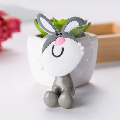 Creative Cute Cartoon Animal Family Sucker Toothpaste Toothbrush Holder Animal Suction Cup Holder Style Optional