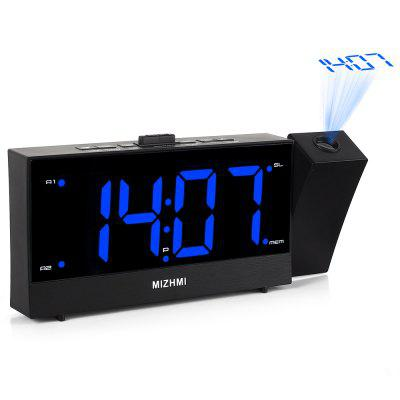 G0181R - P103 Large Screen Multi-function Radio Projector Electronic Alarm Clock