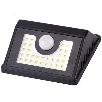 3W Solar LED 30SMD Outdoor Induction Wall Light