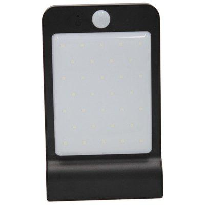 3W Waterproof Outdoor LED Solar Smart Sensor Wall Light