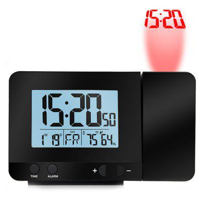 Digital Date Snooze Function Backlight Projector Desk Clock