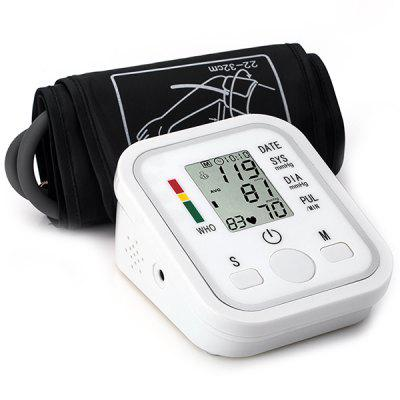 English Voice Automatic Electronic Arm Type Accurate Blood Pressure Measuring Instrument Heart Rate Pulse Meter