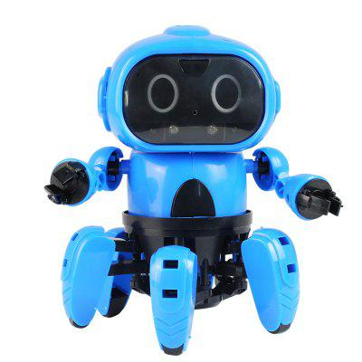 MoFun - 963 DIY Assembled Electric Robot Induction Educational Toy