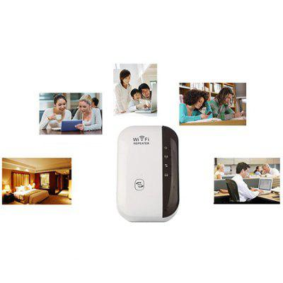 Wireless Network Repeater WiFi Signal Amplifier Router Expander 300M Enhanced Transmission