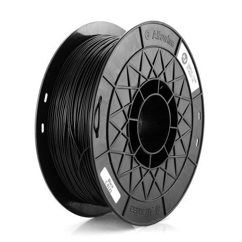 Gearbest Alfawise 3D Printer 1.75MM PLA Filament - BLACK + / -0.2mm High Accuracy 1kg Spool