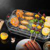 Multi-function Electric Grill Home Baking Pan Smokeless Teppanyaki Bbq Barbecue - NIGHT