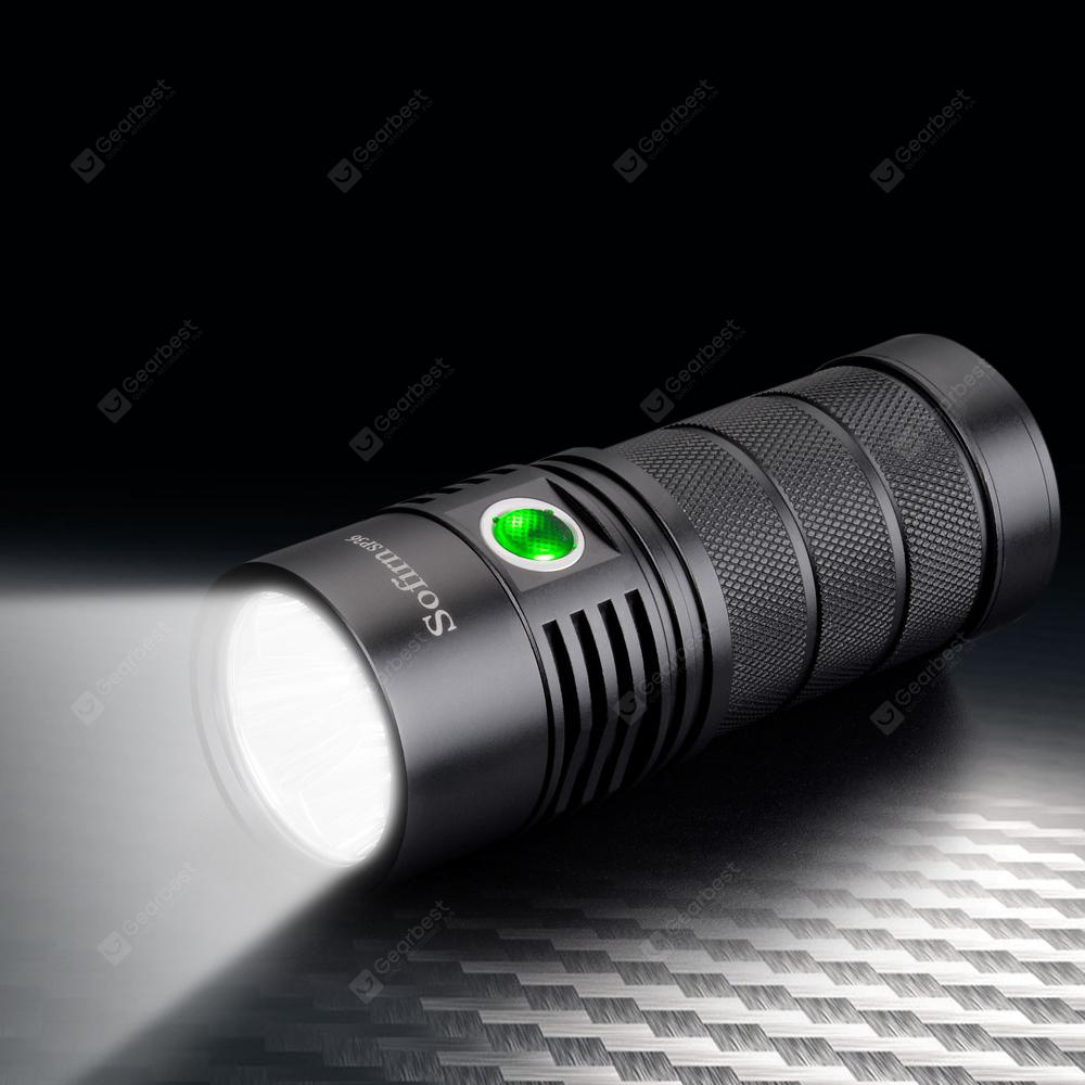 Utorch Sofirn SP36 6000LM LED Flashlight - Black