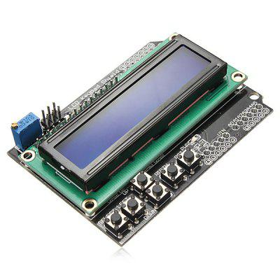 1602 LCD Board Blue Backlight Keypad Module for Arduino