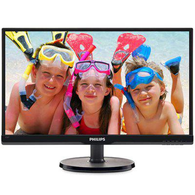 PHILIPS 236V6QSB 23 inch LCD Monitor IPS Wide Viewing Angle HD Eye Protection No Flash Computer Display Wall Mountable