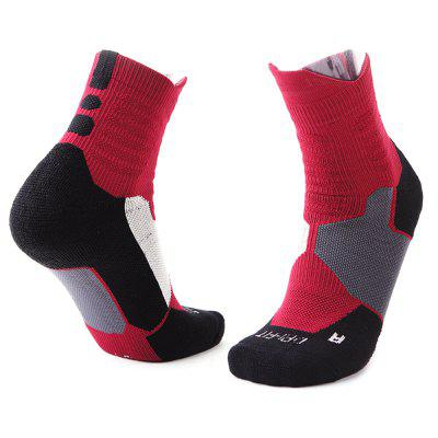 Thick Sweat-absorbent Towel Men Sports Socks